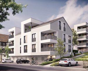 Wohnbebauung Schlaitdorf